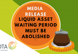 MEDIA RELEASE: Liquid Assets Waiting Period for JobSeeker payments must be abolished to save many tens of thousands from falling into poverty preview image