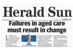Failures in aged care must result in change preview image