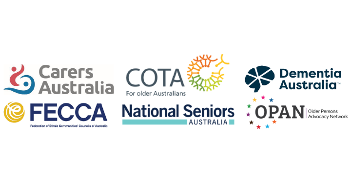 MEDIA RELEASE: Consumer groups outline 10 key points for the future of aged care in Australia preview image